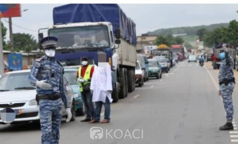 Côte d'Ivoire : Affery, à un barrage, un individu ouvre le feu avec un fusil calibre 12 sur un gendarme et un policier
