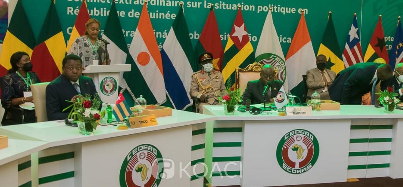 Cedeao :  Conclusions du sommet, recommandations aux militaires au Mali et en Guinée, le sort de Condé scellé