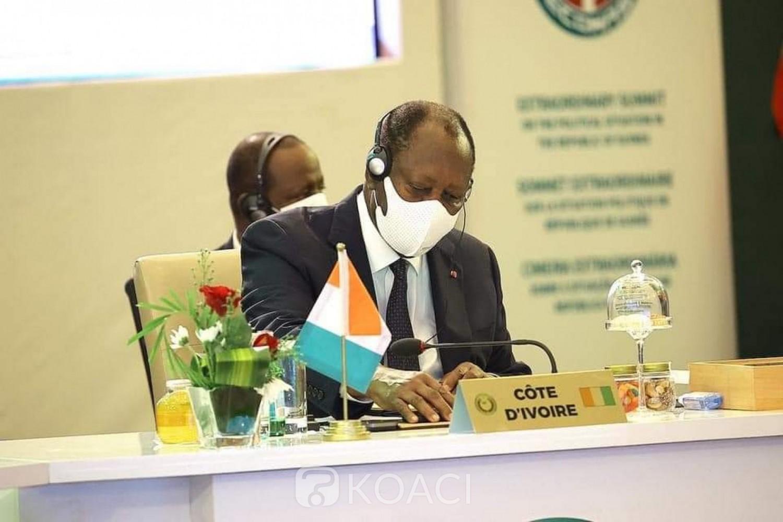 Côte d'Ivoire : Situation en Guinée, après Accra, Ouattara s'envole pour Conakry pour prendre part à une mission de haut niveau de la CEDEAO