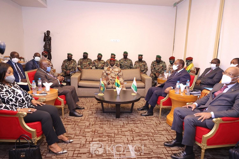 Côte d'Ivoire-Guinée : Le président de la CEDEAO revèle la raison principale de leur présence à Conakry : « Le sort du président Alpha Condé »