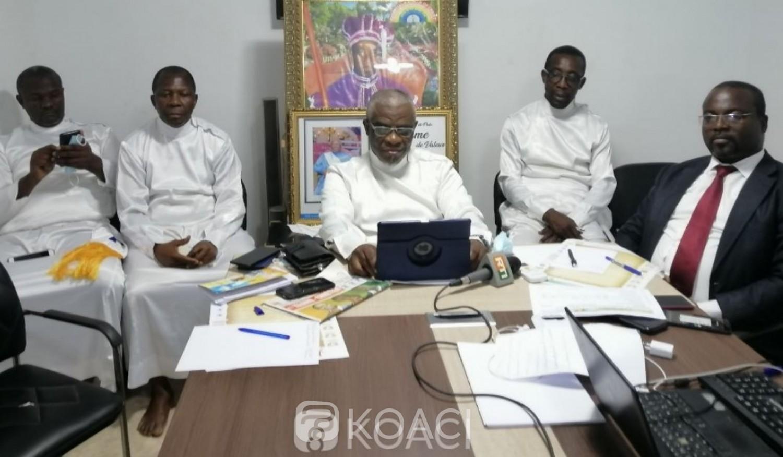 Côte d'Ivoire : 74ᵉ anniversaire de l'église du Christianisme Céleste, Kanon Luc annonce des distinctions honorifiques de Ouattara, Gbagbo Bédié pour leur action à la paix, la réconciliation