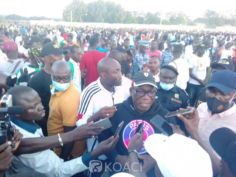 Côte d'Ivoire : L'apothéose du tournoi de la fraternité, rassemble élus et cadres Gblo et Satiklan autour de l'honorable Assahoré pour l'essor de leur région