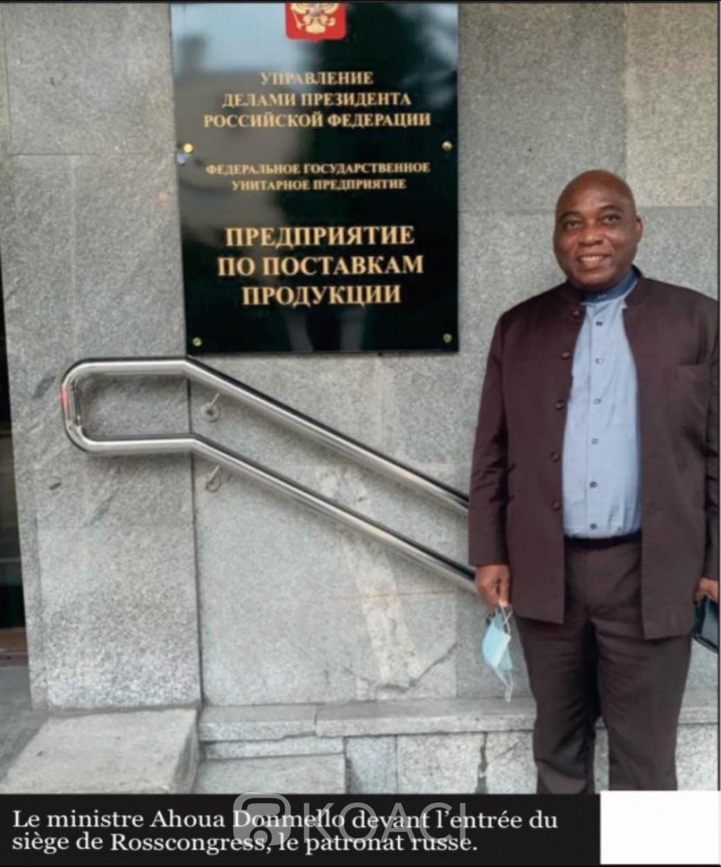Côte d'Ivoire : Attendu à Abidjan après la chute de Condé, Ahoua Don Mello recruté par Moscou ?