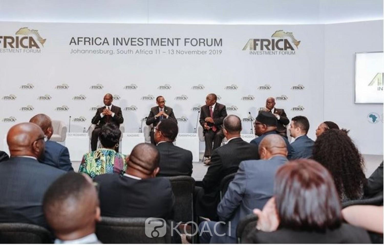 Côte d'Ivoire : BAD, Abidjan abritera le Forum pour l'investissement en Afrique du 1er au 3 décembre prochain
