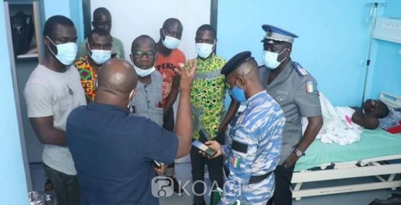 Côte d'Ivoire : Affaire du jeune projeté d'un cargo par des gendarmes, autre version, l'étudiant aurait lui-même sauté du véhicule