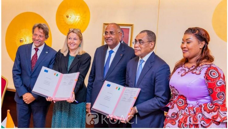 Côte d'Ivoire : Nouvel accord de prêt de 100 milliards de FCFA avec l'Union Européenne