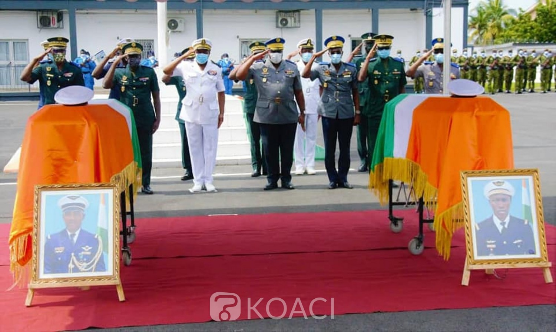 Côte d'Ivoire : Crash de l'hélicoptère Mi 24, un hommage rendu aux deux éléments des FACI dont les identités ont été enfin révélées