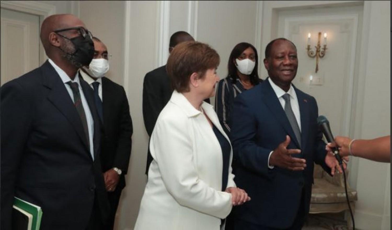 Côte d'Ivoire : Affaire de « chiffres frauduleux Doing Business », des Ministres Africains dont Adama Coulibaly dénoncent des allégations et apportent leur soutien à la Dg du FMI