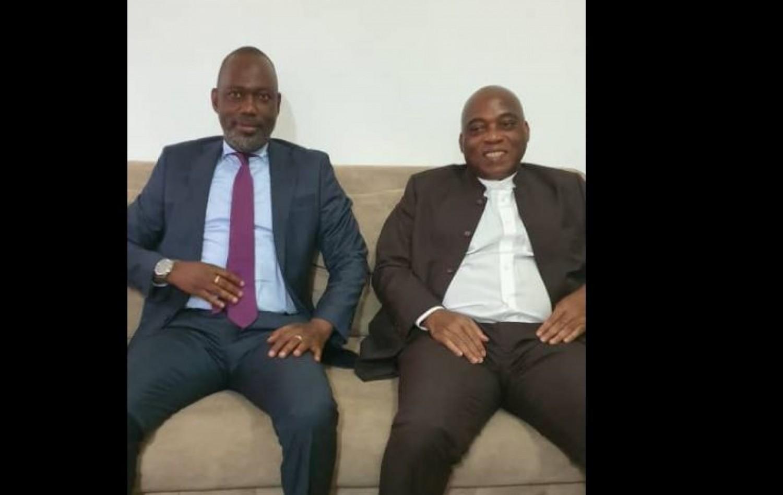 Côte d'Ivoire : L'ex-DG des douanes Alphonse Mangly et l'ancien leader estudiantin Kouamé Kouakou mettent fin à 10 ans d'exil et rentrent au Pays avec Don Mello