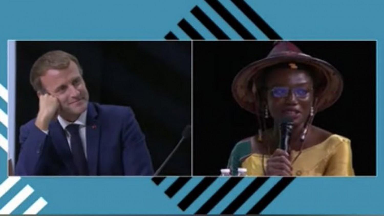 Afrique- France : Une africaine laisse Emmanuel Macron sans voix :« La relation entre l'Afrique et la France est une marmite sale »