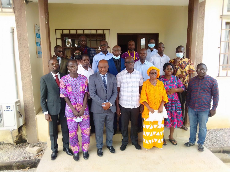 Côte d'Ivoire : Depuis le campus 1 de Bouaké, une mutuelle apporte assistance et réconfort à une vingtaine de ses membres