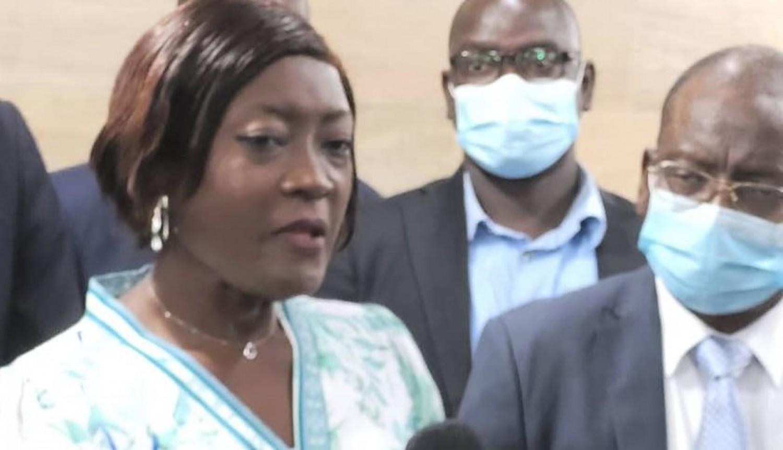 Côte d'Ivoire :   Education, Mariatou Koné à ceux qui veulent l'opposer à Kandia Camara: « Allez y leur dire qu'ils perdent leur temps, je ne fais rien ici sans ses conseils bien avisés »