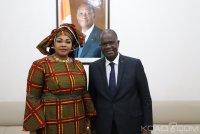 Côte d'Ivoire : Transhumance politique, la présidente des femmes...