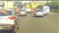 Côte d'Ivoire: Accident spectaculaire entre deux « Gbakas » vu su...
