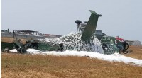 Côte d'Ivoire : Nouveau crash d'un hélicoptère Mi-24 à Abidjan