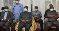Côte d'Ivoire : Bédié devant les chefs des régions du Gôh, Loh Dj...