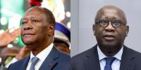 Côte d'Ivoire :  Alassane  Ouattara  reçoit Laurent Gbagbo le 27...
