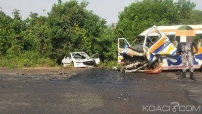 Côte d'Ivoire: Accident meurtrier sur la route de Jacqueville, 02 morts et des blessés graves