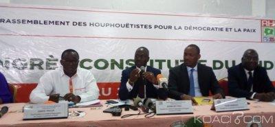 Côte d'Ivoire : Création du parti unifié (RHDP), la mise en place des modalités de transfert des compétences décidée au congrès