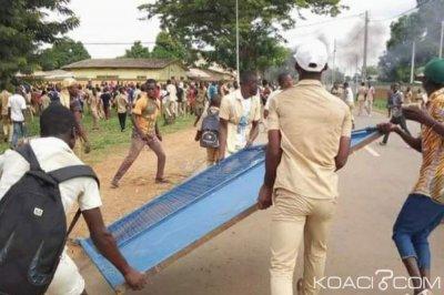 Côte d'Ivoire : Attaque de la brigade de M'Bahiakro par les élèves en 2018, le président départemental du conseil national des jeunes interpellé