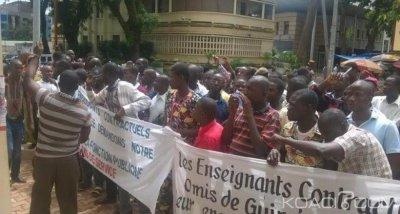 Guinée- Bissau : Après l'échec d'une négociation , les enseignants maintiennent leur grève jusqu' à fin janvier