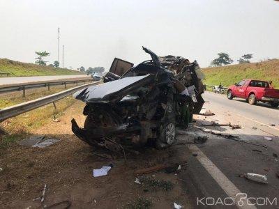 Côte d'Ivoire : Deux proches du président du Sénat Ahoussou, périssent dans un accident