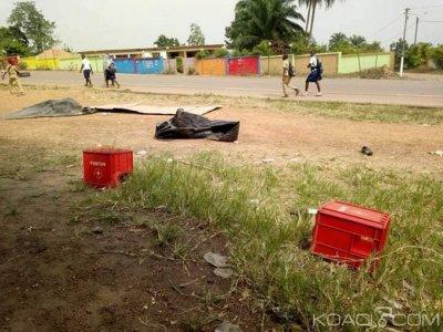 Côte d'Ivoire : Deux écolières et un instituteur tués par un chauffard à Lakota