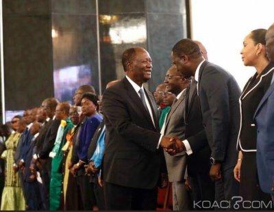 Côte d'Ivoire : Ouattara   annoncé jeudi à Ouagadougou pour la célébration des 25 ans de l'UEMOA