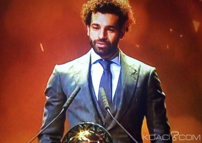 Afrique : Mohamed Salah remporte le ballon d'or africain pour la deuxième fois
