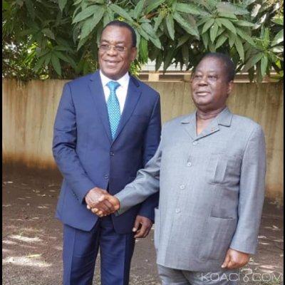 Côte d'Ivoire : Affi chez Bédié pour lui manifester sa solidarité et envisager l'alternance en 2020