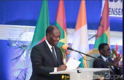 Côte d'Ivoire : 25 ans de L'UEMOA à Ouagadougou, Ouattara dévoile les défis pour préserver les acquis réalisés, accélérer le processus d'intégration sous-régionale