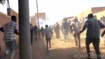 Soudan : Des manifestants anti-gouvernementaux dispersés à coup de gaz lacrymogènes à Khartoum