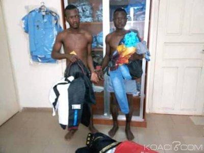 Côte d'Ivoire : Coup de filet de la police de Daoukro,  des cambrioleurs de magasins appréhendés