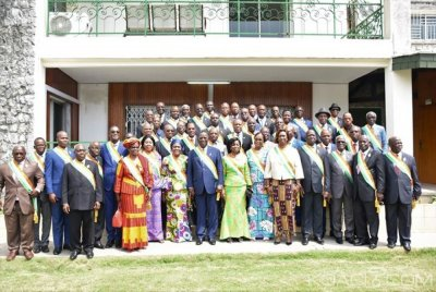Côte d'Ivoire : Ahoussou aux sénateurs «Nos divergences d'opinion sont circonstancielles, comprenons-le, tout passe et tout passera»