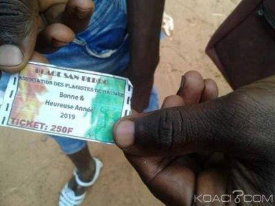 Côte d'Ivoire : Mis aux arrêts pour avoir exigé 250 f pour accéder à la plage municipale de San-Pédro