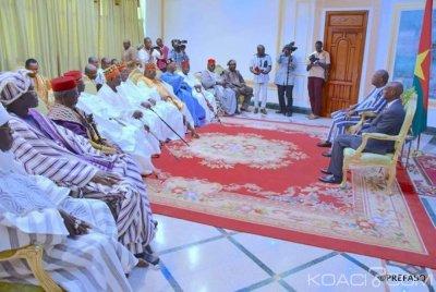Burkina Faso : Des chefs traditionnels évoquent la situation sécuritaire avec le président Kaboré