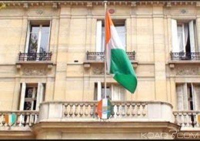 Côte d'Ivoire : Fausse nouvelle d'incendie de voitures devant l'ambassade à Paris