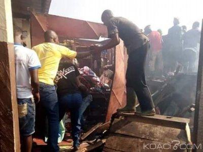 Côte d'Ivoire : Danané, pillage de boutiques après l'incendie du marché de Dioulabougou