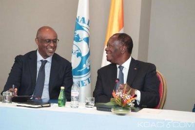 Côte d'Ivoire: À Abidjan, en marge du dialogue politique, Ouattara préside une rencontre du Fmi