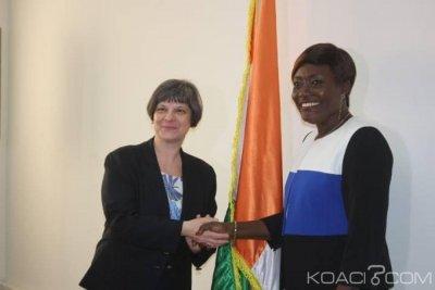 Côte d'Ivoire : La représentante légale des victimes à la CPI a échangé avec Mariatou Koné avant sa rencontre mercredi avec la presse