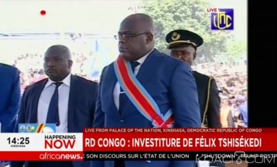 RDC : Félix Antoine Tschisekedi, intronisé Président
