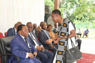 Côte d'Ivoire : CEI, Youssouf Bakayoko échange avec ses collaborateurs sous fond d'un «aurevoir»