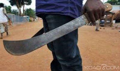 Côte d'Ivoire : Crise de jalousie, un mari cocu taillade à mort son rival