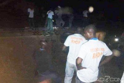 Côte d'Ivoire: Un car transportant des militants du Rhdp de Korhogo se renverse dans un ravin de Bouaké, plusieurs blessés