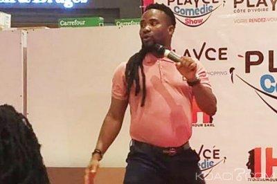Côte d'Ivoire: Boukary en guise de bienvenue au Playce comédie show