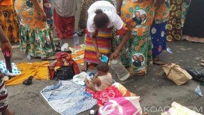 Côte d'Ivoire: Folle ambiance au Plateau, même les nouveaux nés sont au congrès