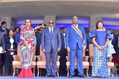 Cameroun :  Biya félicite Tshisekedi après sa prestation de serment