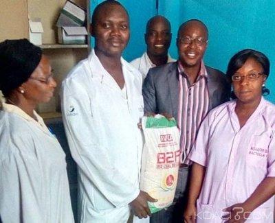 Côte d'Ivoire : Bouaké, pour leur bien-être,  des donateurs bénévoles volent au secours des orphelins d'une PMI