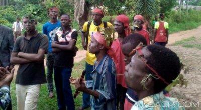 RDC : Satisfaits, 600 miliciens Kamuina Nsapu  déposent armes et amulettes après l'investiture de Tschisekedi