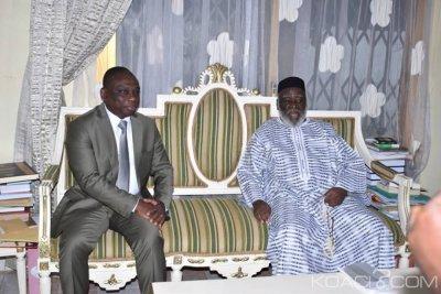 Côte d'Ivoire : KKB rencontre le Cheick Boikary Fofana et lui «confie quelques inquiétudes » quant à la consolidation de la paix dans le pays